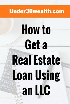 Can You Get a Real Estate Investment Loan Under Your LLC? - Under 30 Wealth How to buy investment property using an LLC and get a loan with LLC. Real estate investing tips for beginners, landlord . Real Estate Business, Real Estate Investor, Real Estate Marketing, Business Marketing, Real Estate Rentals, Real Estate Tips, Investment Property, Rental Property, Income Property