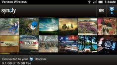スマホで撮った画像をDropboxに自動アップロードできる、無料Androidアプリ『Syncly』