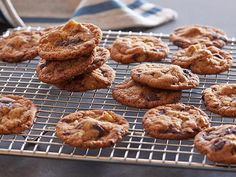 Get Elizabeth Falkner's Chocolate Chip Cookies Straight Up or with Nuts Recipe from Food Network