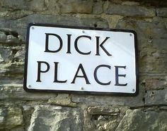 funny road labels photo - Google Search