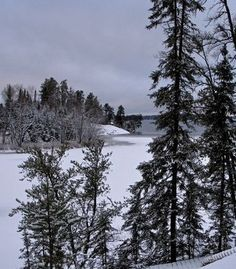Winter in Ely, MN