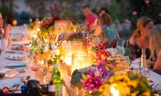 A Garden to Table Feast Life Goals Future, Summer Solstice, Hygge, Tablescapes, Table Decorations, Wedding Stuff, Garden Ideas, Grass, Gardening