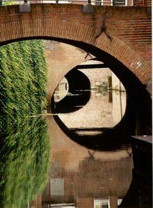 Woda w mieście - Hertogenbosch, Holandia. Foto. Janusz A. Włodarczyk