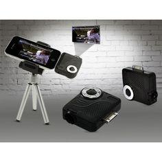 Pico iPhone Mini Projektör Projeksiyon Cihazı  Telefonunuzdaki Videolara, Fotoğraflara Beyaz Perdede Bakmak