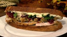 Carla Hall's Leftover Turkey Sandwich