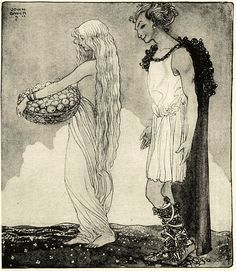 I've loved this Norse illustration for years...why have I never pinned it? By John Bauer