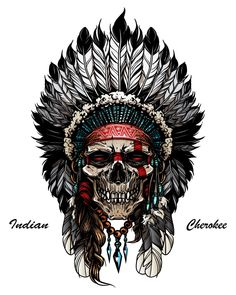 Find Illustration Indian Skull Warrior stock images in HD and millions of other royalty-free stock photos, illustrations and vectors in the Shutterstock collection. Thousands of new, high-quality pictures added every day. Indian Tattoo Design, Skull Tattoo Design, Tattoo Designs Men, Skull Design, Indian Headdress Tattoo, Indian Skull Tattoos, Indian Head Tattoo, Native American Tattoos, Native Tattoos