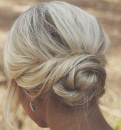 Soft & dreamy bridal hair via the divine Short Hairstyles For Wedding Bridesmaid, Short Wedding Hair, Bridesmaid Hair, Prom Hair, Wedding Hairstyles, Short Hair Bun, Short Hair Styles, Classic Updo, Low Bun Hairstyles