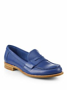 9ec2362c67e Prada - Leather Penny Loafers