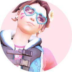 Overwatch Tracer, Anime Art Girl, Profile Pics, Fluttershy, Hana, Queens, Ss, Gaming, Aesthetics