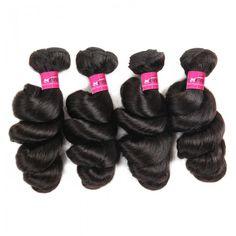 【Wedding bridal Hairstyles】Wholesale Loose Curls Wave Hair Vendors Brazilian Loose Curls Wave Weave Sew In Brazilian Loose Curls Wave Hairstyles For Wavy hair #hairbundles #loosewave