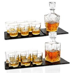 The Best Gift-Shop Bormioli Rocco Whiskey Decanter & 6 Glasses Tumblers Gift Boxed Set Wedding Xmas Whiskey Decanter, Whiskey Glasses, Whiskey Bottle, Wedding Gift Boxes, Best Bbq, Presents For Friends, Best Gifts, Wine, Tumblers