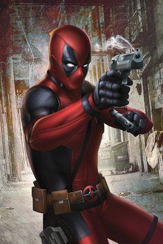 #Deadpool #Fan #Art. (Deadpool) By: Megurobonin. ÅWESOMENESS!!!™