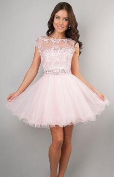 Shop prom dresses and long gowns for prom at Simply Dresses. Floor-length evening dresses, prom gowns, short prom dresses, and long formal dresses for prom. Party Gown Dress, Party Gowns, Dress Prom, Light Pink Homecoming Dresses, Bridesmaid Dress, Prom Party, Tulle Dress, Strapless Dress, Dama Dresses