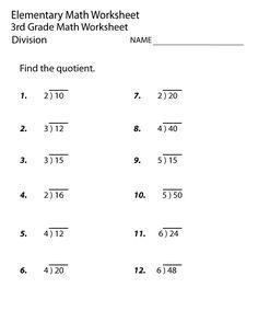 Free Math Worksheets Third Grade 3 Division Division Facts 2 or 3 . 4 Worksheet Free Math Worksheets Third Grade 3 Division Division Facts 2 or 3 . Multiplication Facts Worksheets, Math Division Worksheets, 7th Grade Math Worksheets, Free Printable Math Worksheets, 3rd Grade Math, Worksheets For Kids, Third Grade, Grade 3, Homeschool Worksheets