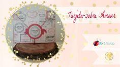 Tutorial tarjeta-sobre scrapbook Scrap, Patchwork Ideas, Youtube, Tutorials, Cards, Envelopes, Love, Scrap Material