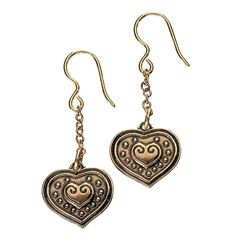 Kalevala Koru - Euran Sydän, korvakorut / Kalevala Jewellery - Eura's Heart, earrings (got these) Heart Jewelry, Heart Earrings, Drop Earrings, Steel Metal, Iron Steel, Bronze Jewelry, Malm, Jewelry Branding, Jewerly