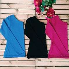 If the weather is so cold, our recommendation is double layered blouses. #blouse #thsirt #double #layer #pink #blue #black #organic #organik #woman #fashion #flowers