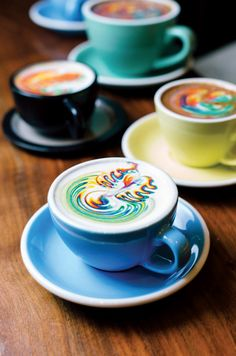 Sambalatte's Rainbow Latte.