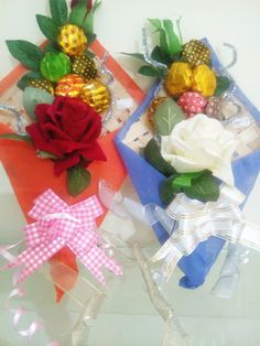 Chocolate Bouquets by Chocolate Venue