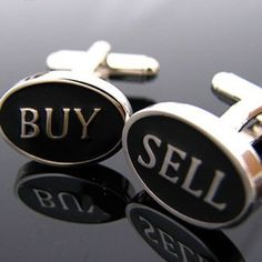 Perfect cufflinks for a real estate agent