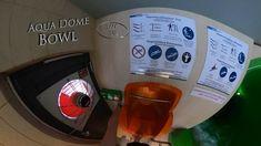 """Aqua Dome Bowl """"Bergrennen"""" (Interactiv) 360° VR POV Onride Water Slides, Vr, Aqua, Make It Yourself, Water"""