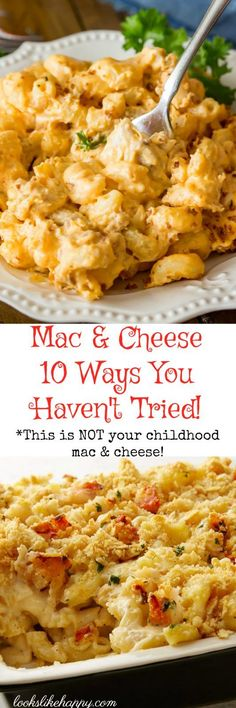 Mac and Cheese 10 Amazing Ways You've Never Thought Of! – Looks Like Happy  #macandcheese #macaroni #dinner #easydinner #lookslikehappy