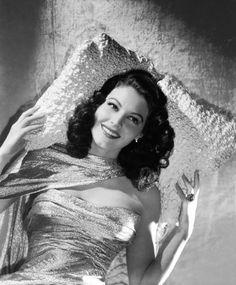 Ava Gardner, por George Hurrell, 1944