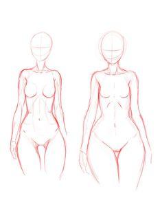 Body types doodle 2 by Ecchi-Senshi