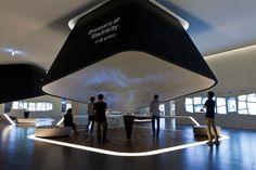 SAMSUNG INNOVATION MUSEUM by newtype imageworks, via Behance