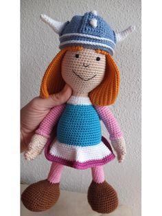 Wickie gehäkelt Crochet Viking Vickie