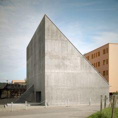 Olgiati Valerio, Auditorium Plantahof, Landquart, Svizzera, 2008-2010