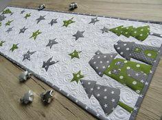 Quilt-Tischläufer Weihnachten