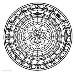 Free-Mandalas-Coloring-Pages.jpg (850×844)