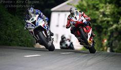 Ian Hutchinson and John Mc Guinness senior TT 2016