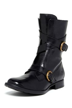 BORN Oxley Buckle Boot (channeling my 80s punk rock self)