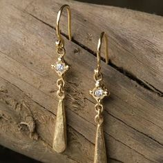 I found the Eden Earrings at ArhausJewels.com. Artisan, Handmade Jewelry, Drop Earrings, Jewels, Beads, Unique, Pretty, Gold, Diamonds
