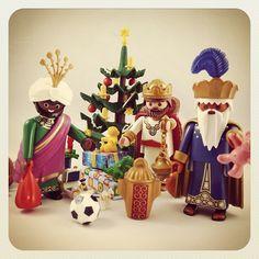 Ya han llegado los Reyes Magos ;) #playmotito #playmobil