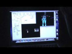 Körpertracking mit Kinect via Max MSP. fhSPACE - FH St. Pölten 2012
