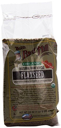 Bob's Red Mill Organic Raw Whole Brown Flaxseed - 24 oz -- Sensational bargains just a click away : baking desserts recipes