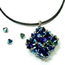 Dazzle pendant from funkyhannahs.com