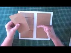 Multi purpose folder Midori style traveler's notebook - part 2 - YouTube
