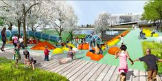 Gallery of OMA + OLIN Selected to Design D.C.'s 11th Street Bridge Park - 15