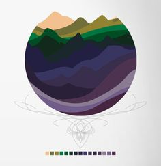 Mountains by kelly chilton