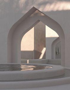 Minimalist Architecture, Organic Architecture, Beautiful Architecture, Art And Architecture, Aesthetic Rooms, White Aesthetic, Exterior Design, Interior And Exterior, Dream Home Design