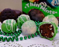 Celebrate St. Patrick's Day and 100 years of Girl Scouts with Thin Mint truffles - Philadelphia Food | Examiner.com