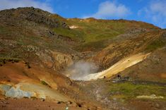 Seltun Geothermal Area Iceland