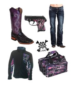 The perfect outfit for the shooting range! Country Wear, Country Girls Outfits, Western Outfits, Country Life, Camo Outfits, Girl Outfits, Basic Style, My Style, Muddy Girl Camo