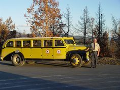 Historic Yellowstone Bus