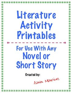 Great Reading Response Activities and